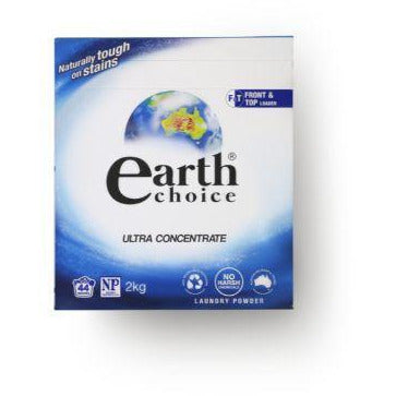 Earth Choice Ultra Laundry Powder Dual Action 2kg