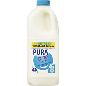 Pura Tone No Fat Milk 2 Litre