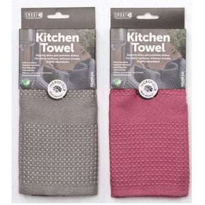 Smart Microfibre Kitchen Cloths - Hand Towel 2pk