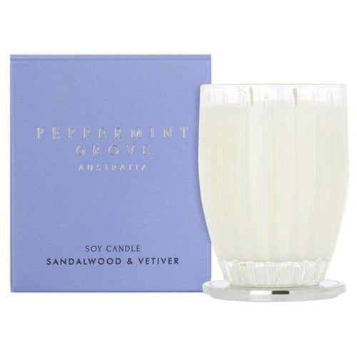 Sandalwood & Vetiver Candle - 60g
