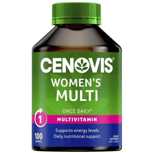 Cenovis Womens Multi Vitamin Once a Day 100 Capsules