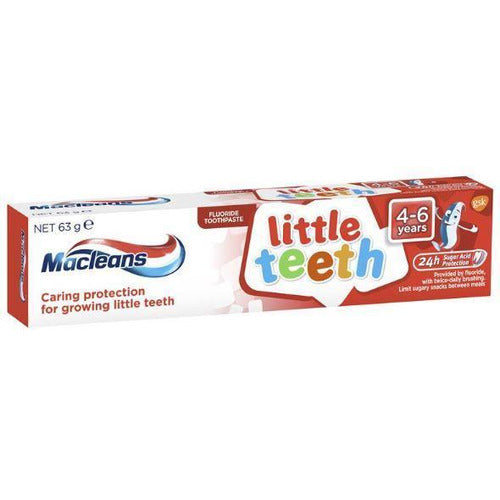 Macleans Toothpaste Little Teeth 4-6 years 63g