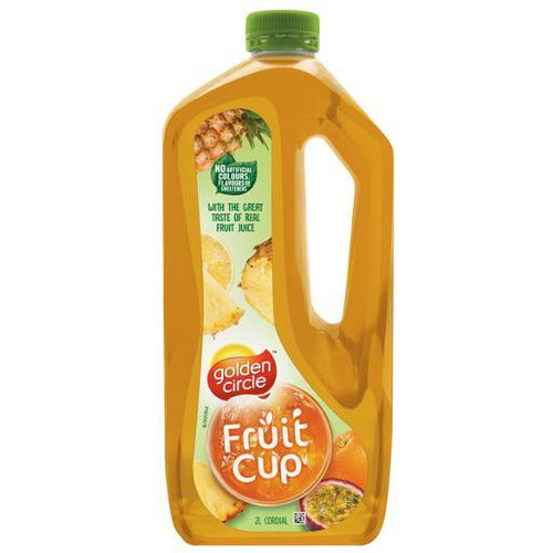 Golden Circle Fruit Cup Crush Cordial 2L