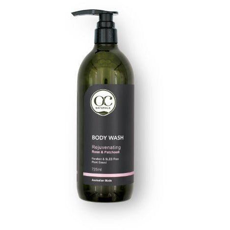Organic Care Rose & Patchouli Rejuvenating Body Wash 725ml