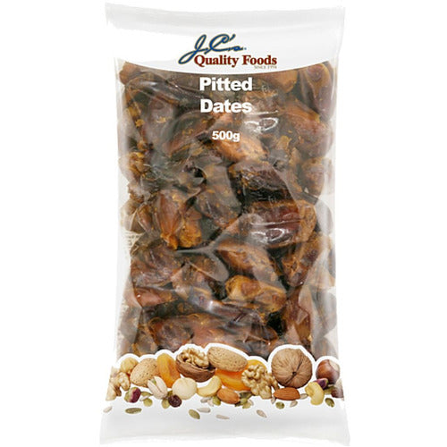 JC's Dates Pitted 500g