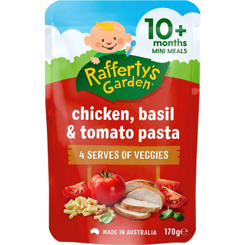 Rafferty's Chicken, Basil & Tomato Pasta 170g