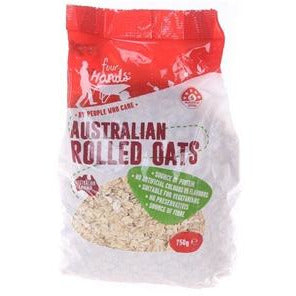 Four Hands Rolled Oats 750g