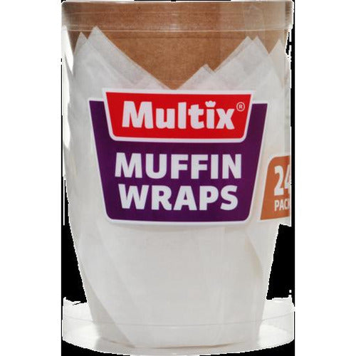 Multix Muffin Wraps x 24