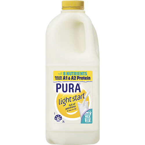 Pura Light Start Milk 2 Litre