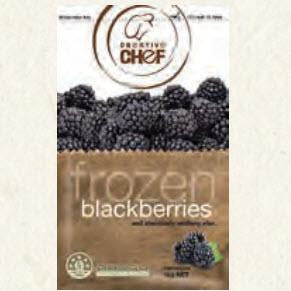 Frozen Blackberries IQF 1kg