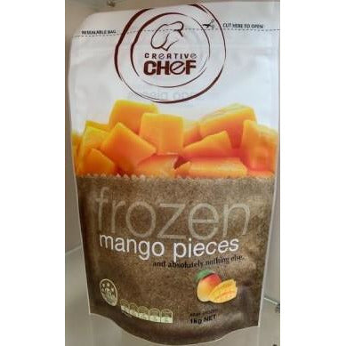 Frozen Mango Pieces IQF 1kg