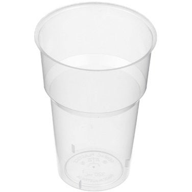 320ml (12oz) Drinking Cup Natural 50pk