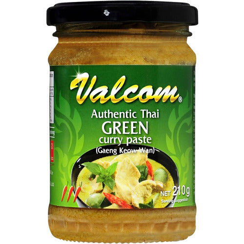 Valcom Paste Thai Green Curry 210g