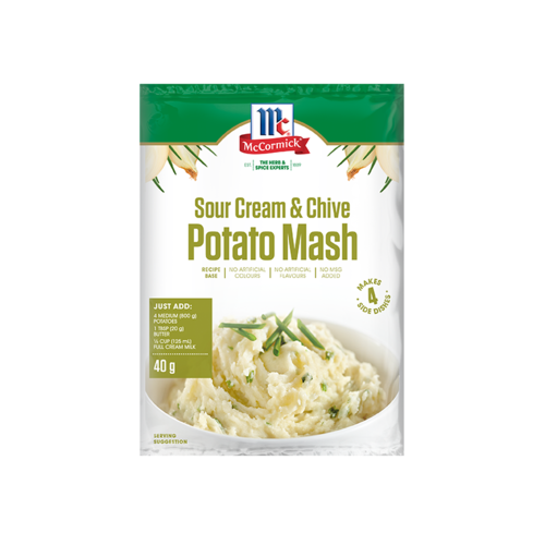 McCormick Sour Cream & Chive Potato Mash
