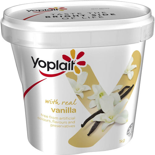 Yoplait Yogurt 1kg - Vanilla