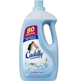 Cuddly 2L Fabric Conditioner - Sunshine Fresh