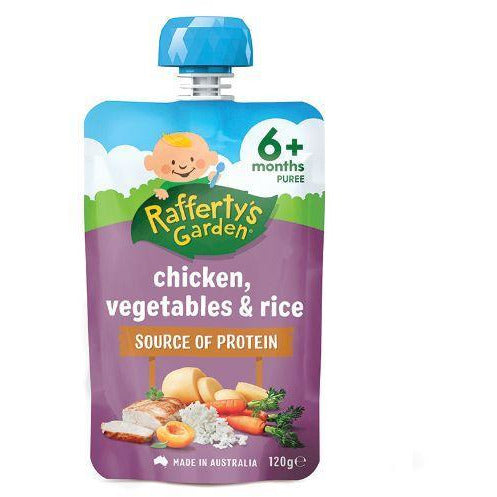 Rafferty's Chicken Rice & Veg 6 Month 120g
