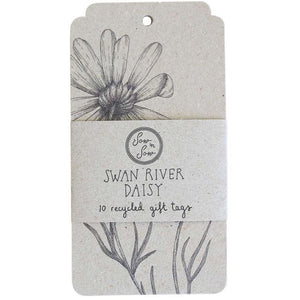 Swan River Daisy Gift Tags - 10 Pack