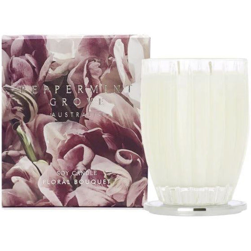 Floral Bouquet Large Candle - 350g
