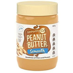 Community Co Peanut Butter Smooth 500g
