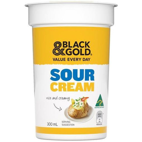 Black & Gold Sour Cream  300ml