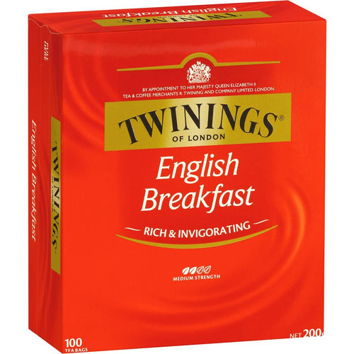 Twinings English Breakfast Classics Teabags 100s