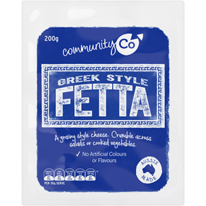 Community Co Greek Fetta 200g