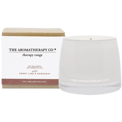 Therapy Candle Uplift - Sweet Lime & Mandarin
