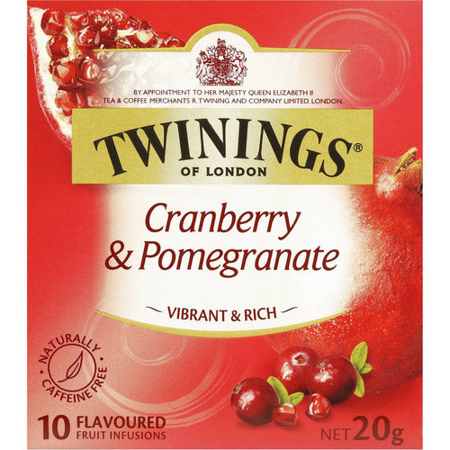 Twinings Tea Bags 10 pk - Cranberry & Pomegranate