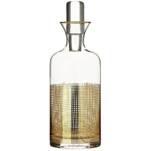 Gilt Mesh Decanter