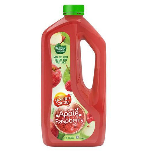 Golden Circle Apple Raspberry Cordial 2L