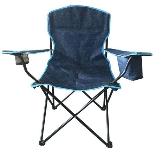 Campus&Co Camp Chair Standard Blue Pattern