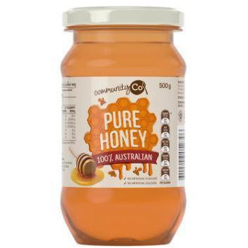 Community Co Honey Jar 500g