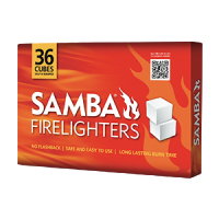 Samba White Firelighters - 36 Pack