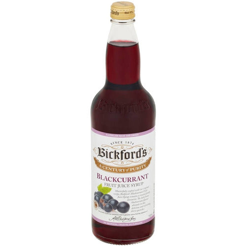 Bickfords Cordial 750ml - Blackcurrant