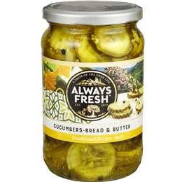 Always Fresh Bread & Butter Cucumber 700g