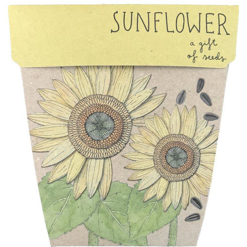 Sunflower Gift of Seeds