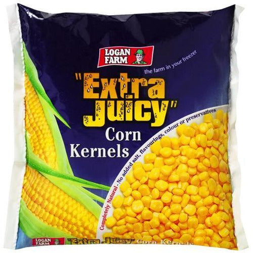 Logan Farm Extra Juicy Corn Kernals 500g