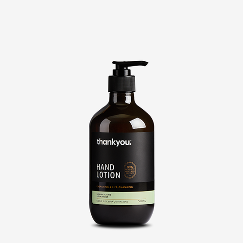 Thankyou Hand Lotion 500ml - Lime & Coriander