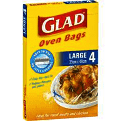 Glad Oven Bags Large 4 pk