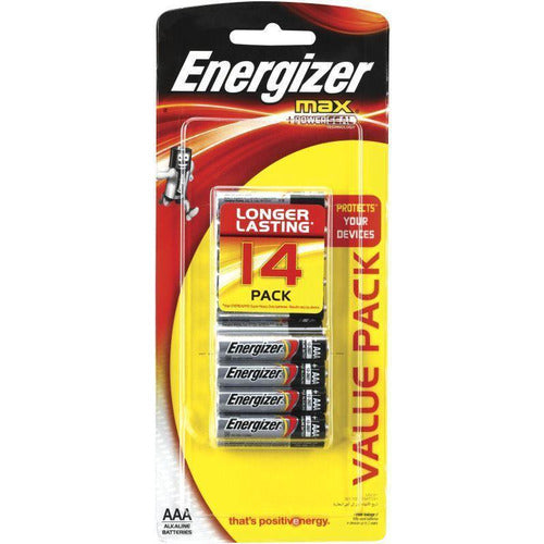 Energizer Max AAA Batteries 14pk