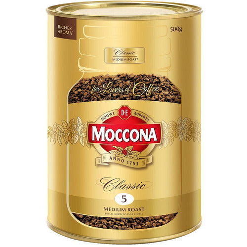 Moccona Classic Coffee Medium Roast 500g