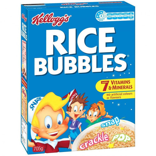 Kellog's Rice Bubbles 705g