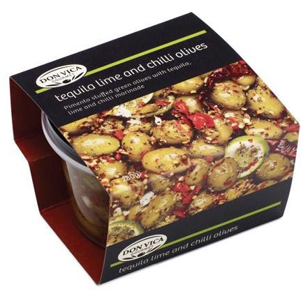 Don Vica Gourmet Olives 280g - Tequila Lime & Chilli