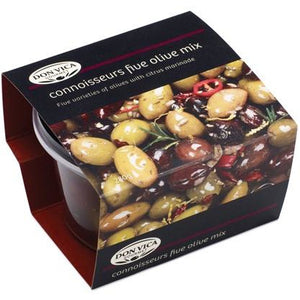 Don Vica Gourmet Olives 280g - Five Olive Mix