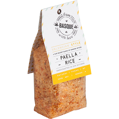 Basque with Love Meal Sachet - Paella Rice