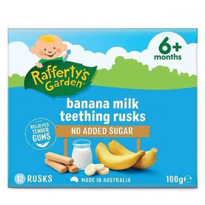 Rafferty's Banana Milk Rusk 6 Month 100g