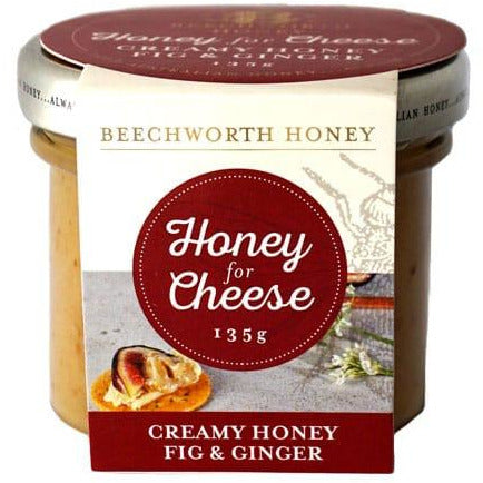 Beechworth Honey Creamy Honey Fig & Ginger 135g