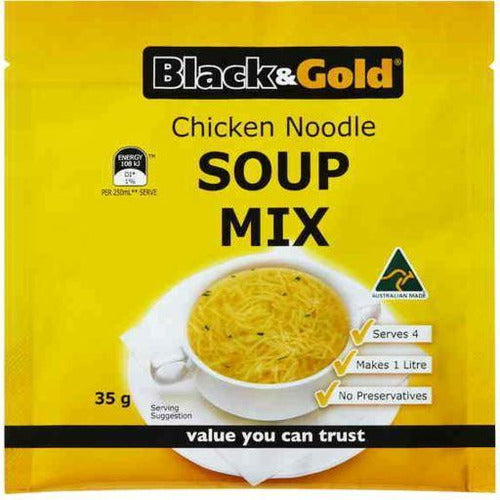 Black & Gold Chicken Noodle Soup 50g