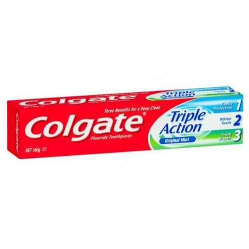 Colgate Toothpaste Triple Action Mint 160g